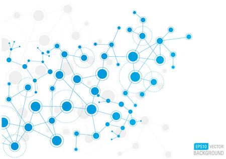 ネットワークのバック グラウンド  イラスト・ベクター素材