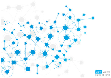 Network Background Vettoriali