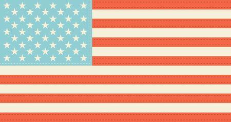 vintagern: USA Flag