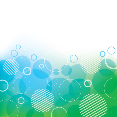 Abstract Background with Circles Illustration