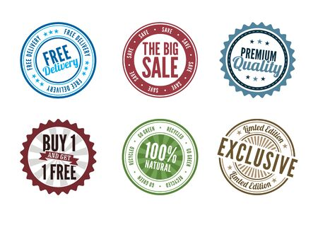 Retail Stamps and Badges