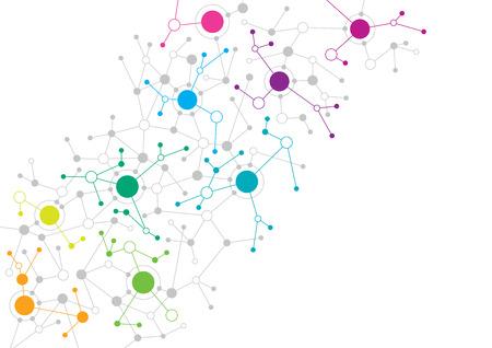 Diseño abstracto de la red