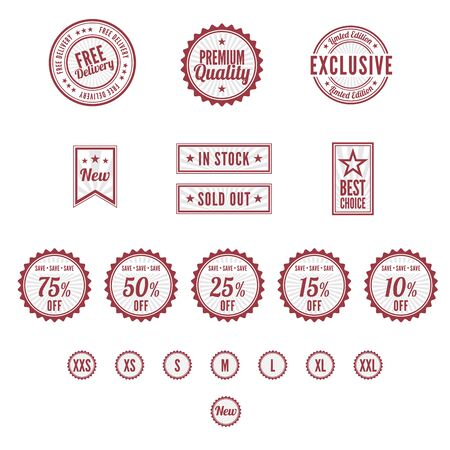 seal: A set of Badges and Stamps