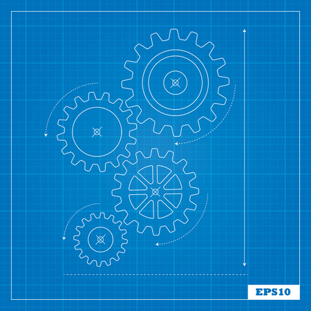 Blueprint of Cogs