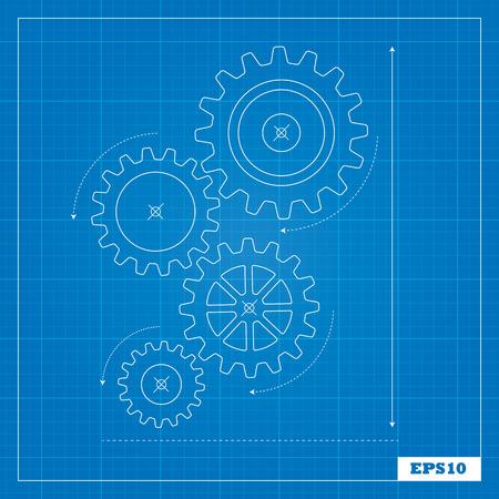 Blueprint of Cogs