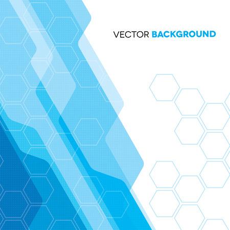 Futuristic blue technical background