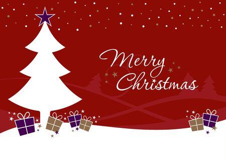 クリスマス ツリー ・ ギフト ボックス