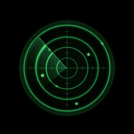 radar: Glowing Radar Design
