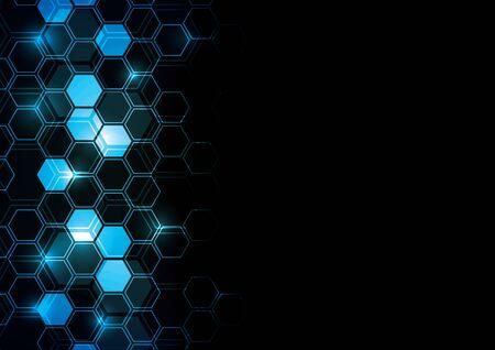 Glowing Technisches Design Standard-Bild - 38634997