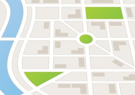 道路や建物の都市の地図 写真素材 - 43284971