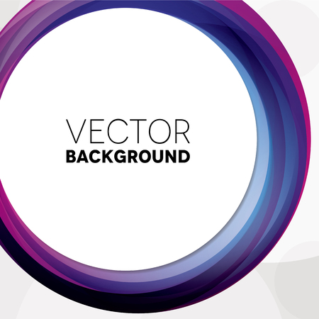 overlapping: Abstract background with purple and pink circles Illustration