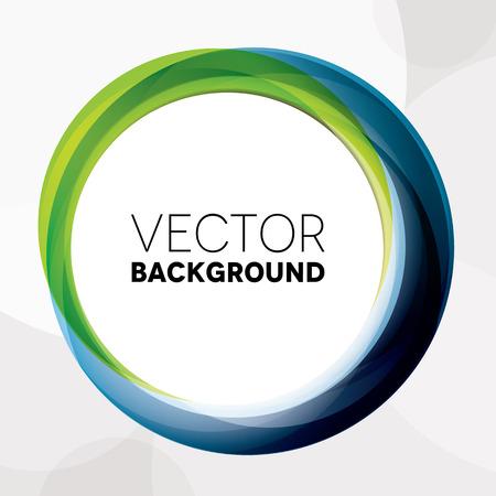 marcos redondos: Resumen de antecedentes con los c�rculos verdes y azules