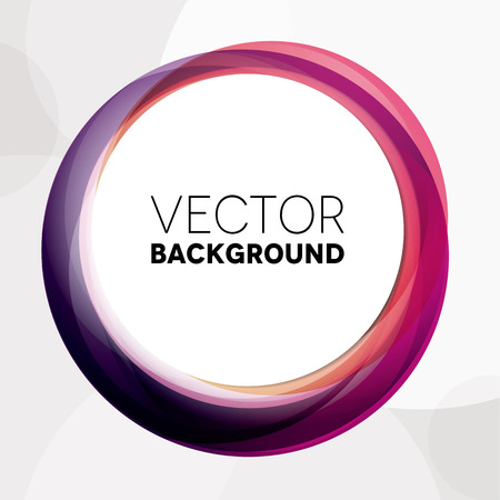 Abstract background with purple and pink circles Vettoriali