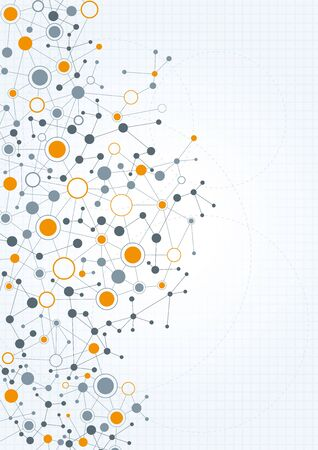 connection connections: A modern, technical background with a network theme