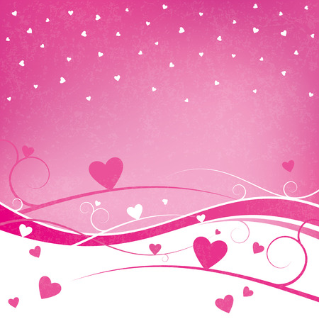 themed: A grunge themed background for Valentine�s Day