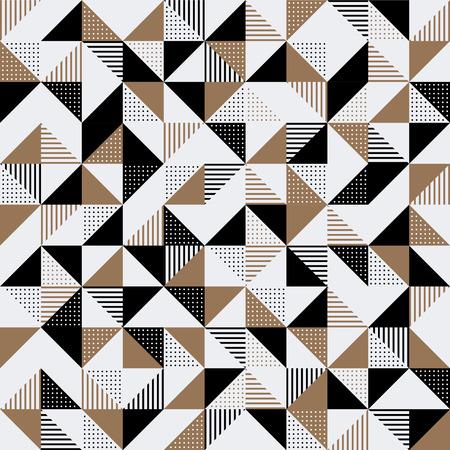 金および黒いの現代幾何学的な背景の設計