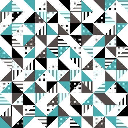 緑と黒の近代的な幾何学的背景デザイン