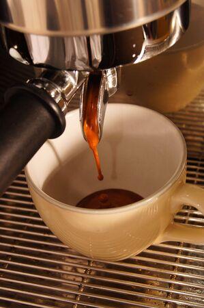 extraction espresso shot photo