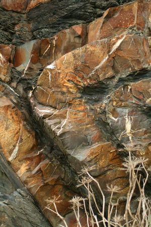 stratigraphy: Rock formation Stock Photo