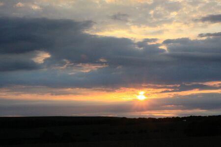 setting sun: Setting sun