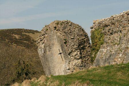 Castle ruin photo