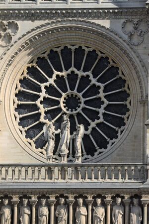 rose window: Notre Dame rose window