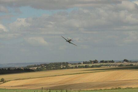 interceptor: Spitfire over farmland