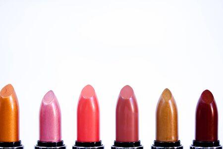 Line of Lipsticks