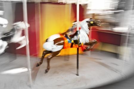 Spinning Carousel Stock Photo - 14064316