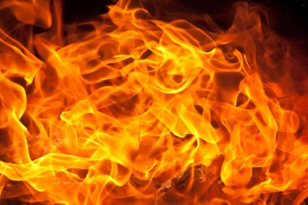 a background of flames Stock Photo - 14627983