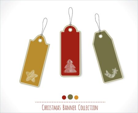 Christmas banner collection Stock Vector - 16082463