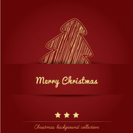 Christmas background collection Stock Vector - 16247358