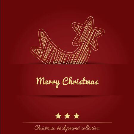 Christmas background collection Stock Vector - 16247357