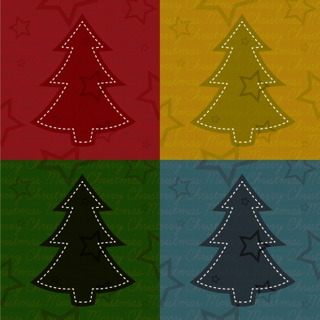 Christmas background collection Illustration