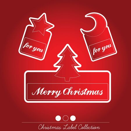 Christmas Label Collection Stock Vector - 16435307