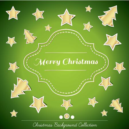Christmas background collection Stock Vector - 16435313