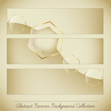 Abstract Banner Background Collection Stock Vector - 17243205
