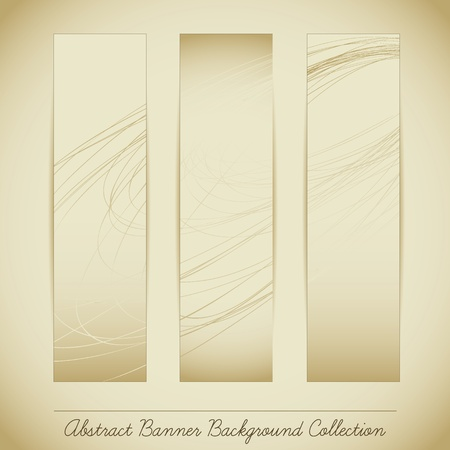 Abstract Banner Background Collection Vector