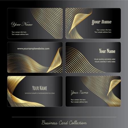 Colección de la tarjeta de negocios