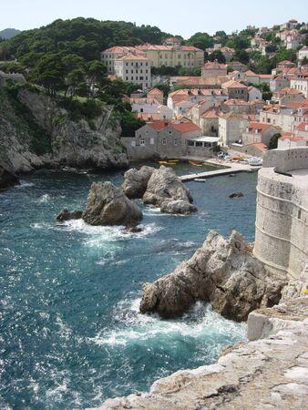 Coastline of Dubrovnik, Croatia Reklamní fotografie