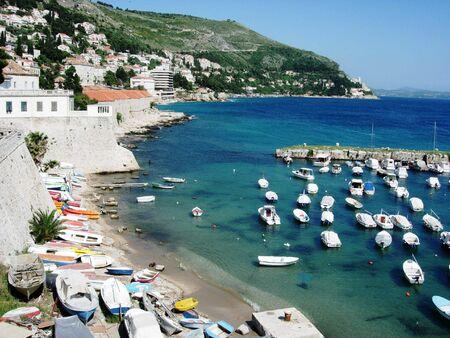 dubrovnik: Old Town Harbor, Dubrovnik, Croatia