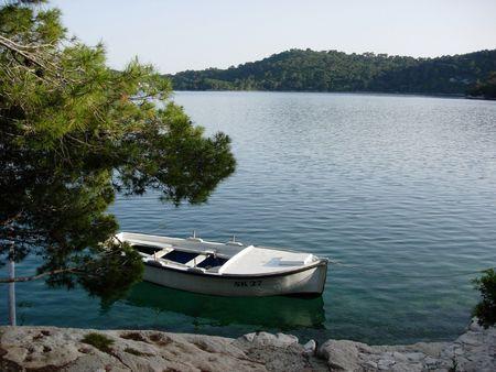 Mljet 국립 공원 크로아티아의 호수