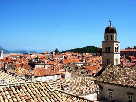 Skyline of Dubrovnik, Croatia