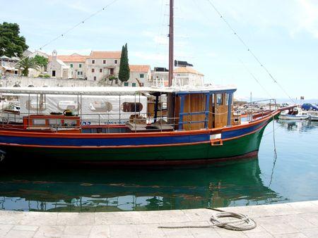 Boats of Bol, Island of Brac, Croatia