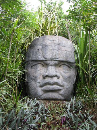 cozumel: Estatua en el Parque Nacional Chankanaab, Cozumel Mexico