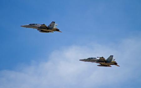 f18: F18 airplane Editorial