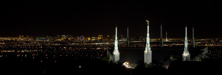 lds: Las Vegas Stock Photo
