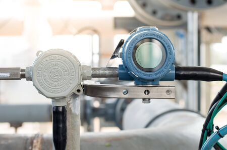 pressure transmitter during technician perform calibration