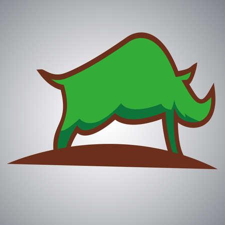 Rhino vector Logo Design Icon