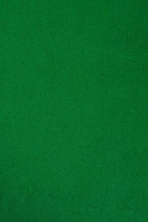 Green poker table. Nice for backgorund. Top view.